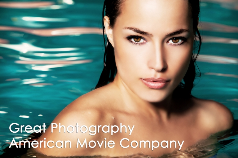 Photo of Beautiful Young Woman In Water  AmericanmovieCo.com