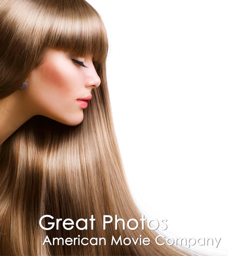 Female Face Digital Photo  AmericanMovieCO.com