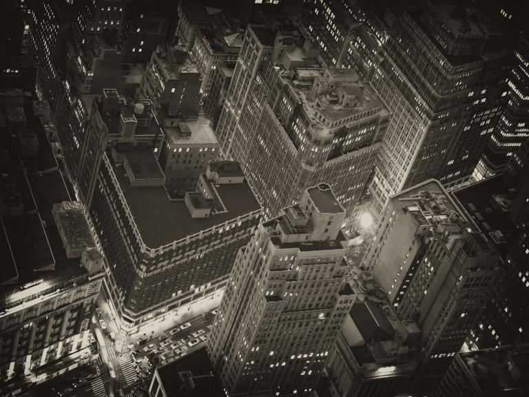 Camera Drone Night NYC American Movie Co.com