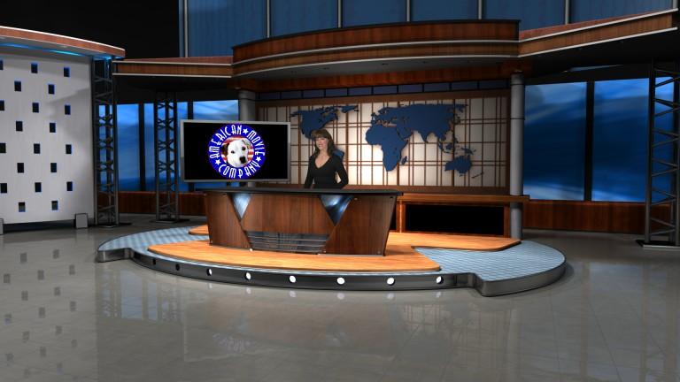 AmericanMovieCO.com Virtual Tricaster Live Set New Desk