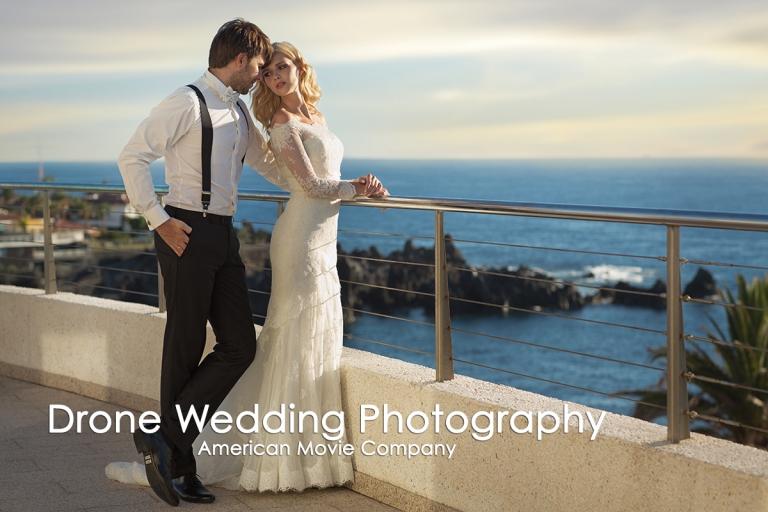 Drone Wedding Video  at AmericanMovieCO.com