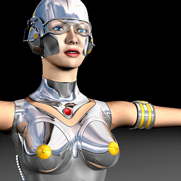 Robot Animated via Motion Capture