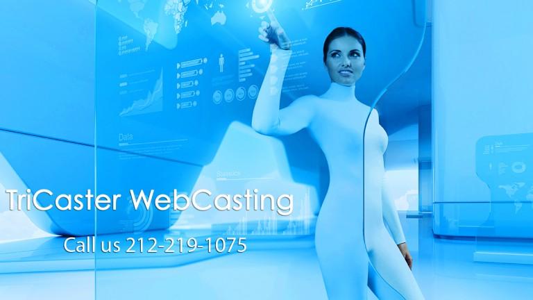 TriCaster WebCasting at AmericanMovieCo.com