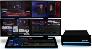 A photo of the powerful TriCaster 8000.