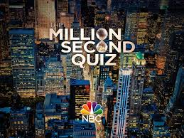 Million Second Quiz Title Sequence