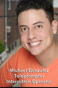 Michael Gonzalez Teleprompter Operator AmericanMovieCO.com