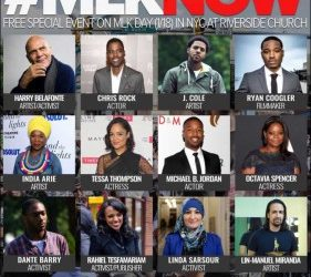 Teleprompting at Riverside Church – MLKNOW