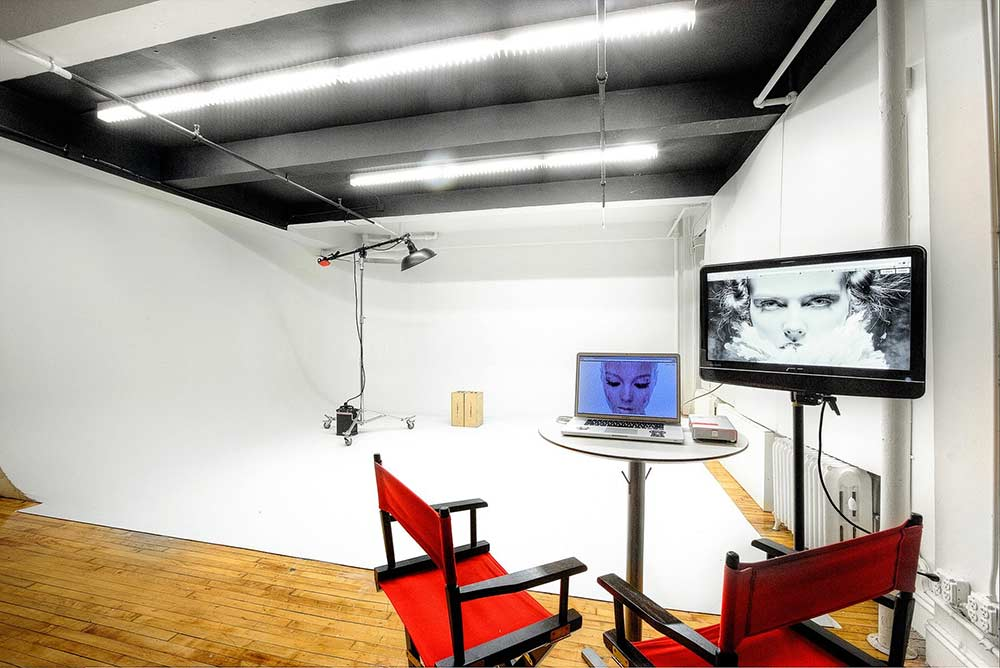 white cyc studio