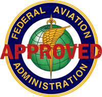 FAA approved logo