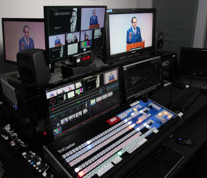 Live WebCasting equipment
