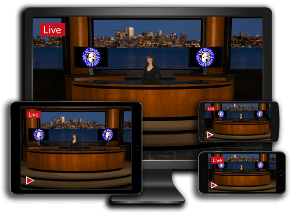 Live Broadcast with Live 3D sets