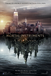 Feature Film Production - Mortal Instruments - City of Bones poster