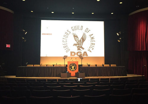 Presidential Teleprompter rental at a charity event