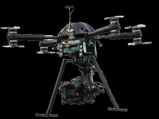 Titanium X8 Octocopter