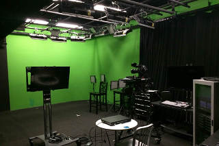 SoHo Insert Green Screen Sound Stage