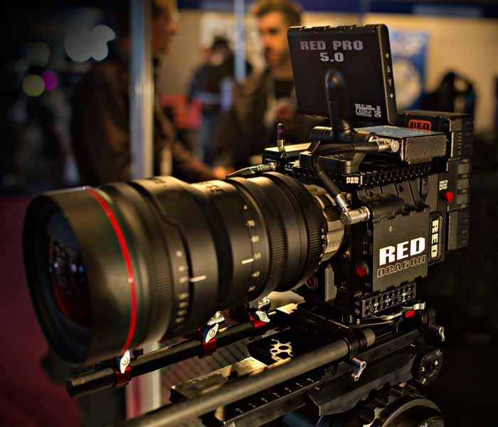 Video Production Red Pro Camera