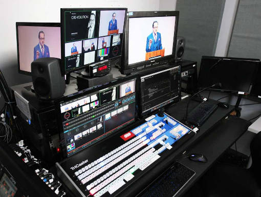 chelsea north webcasting control room setup