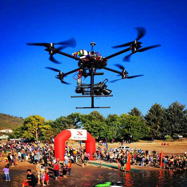 Use our live broadcasting services to live WebCast aerial video to any device.