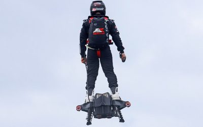 """FlyBoard Air"" Flying Skateboard:  Amazing Tech or VFX Hoax?"