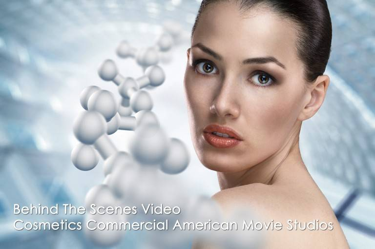 BTS Video at Cosmetics Commercial AmericanMovie Co.com