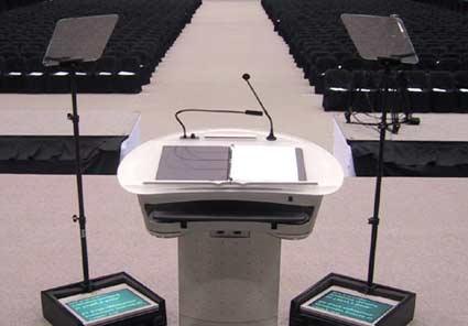 Presidential Teleprompter aka Speech Teleprompter