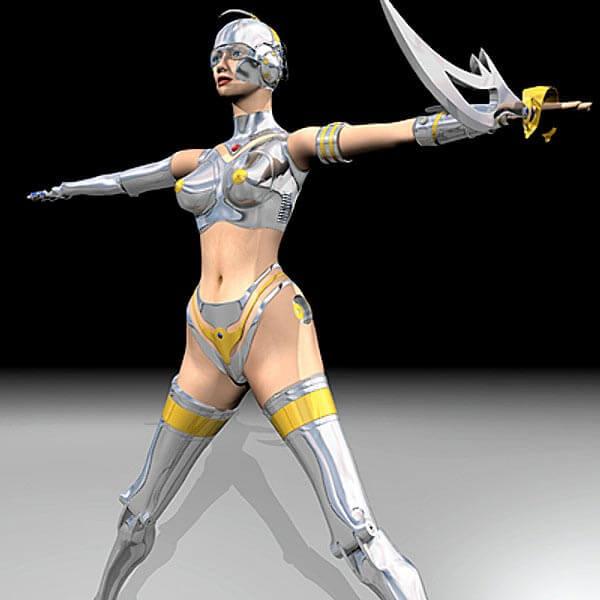 vfx-feminine-robot