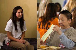 Kimiko Glenn and Lori Tan Chinn, actors
