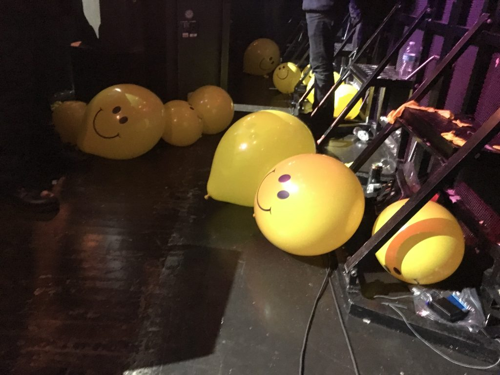 Balloons at the Epiphone Revolver Music Awards