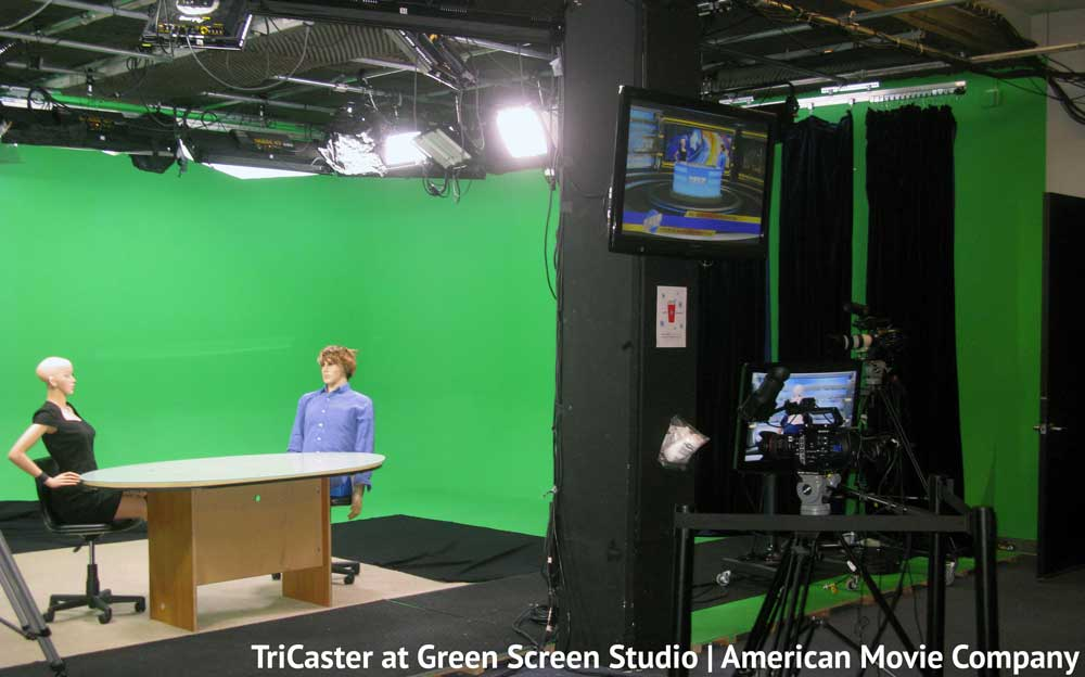 TriCaster for Green Screen and Live WebCasts | Live Streaming Video 1