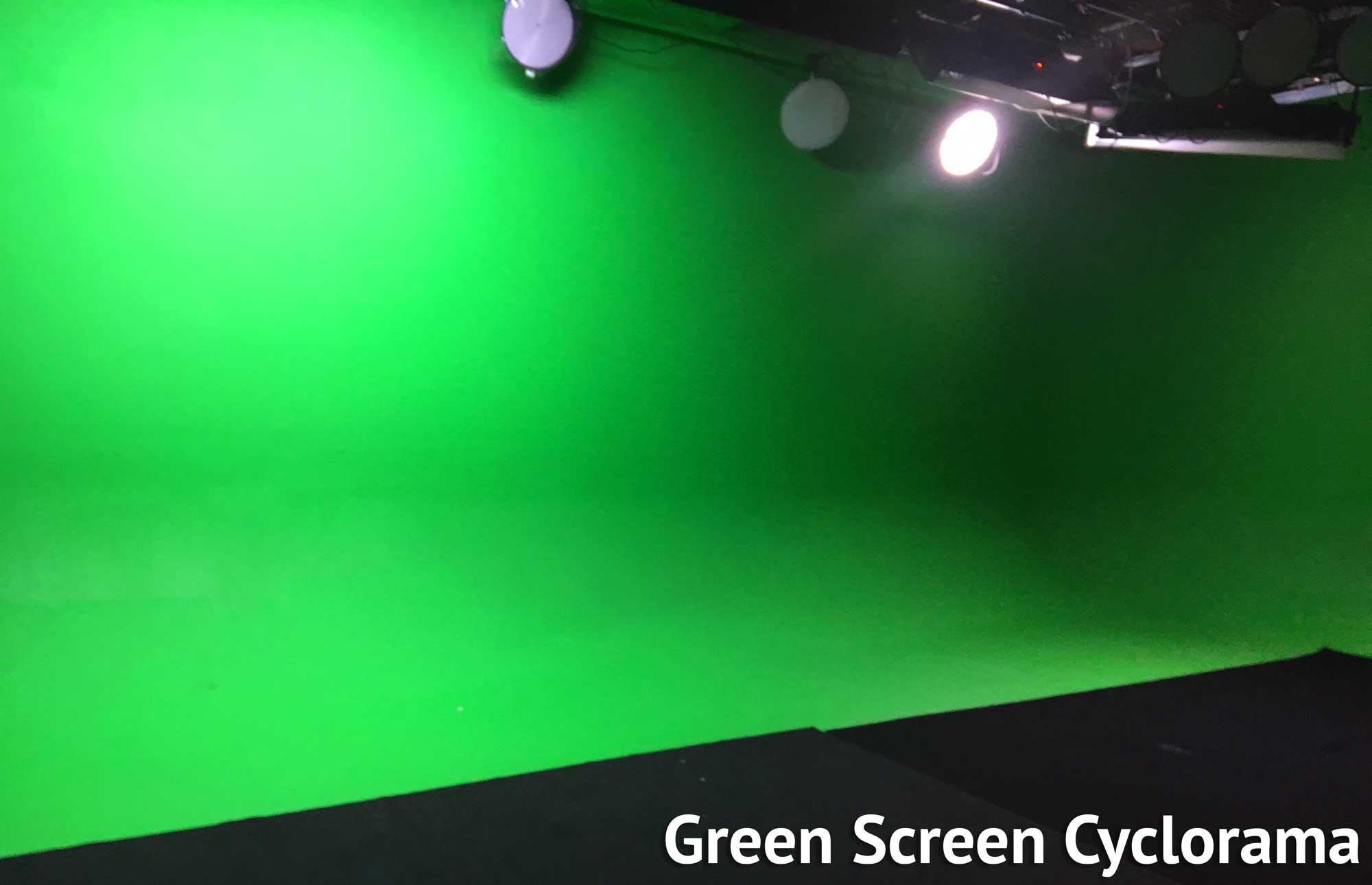 Cyclorama Green Screen