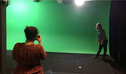 Lighting a Green Screen 1