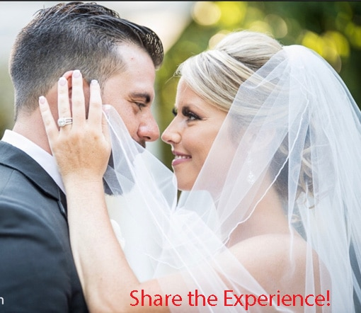 Share the Experience! pic of happy couple - Close up of James and Ashley