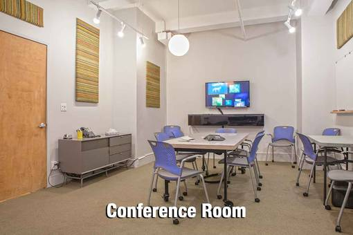 Conference Room - spacious - table - chairs