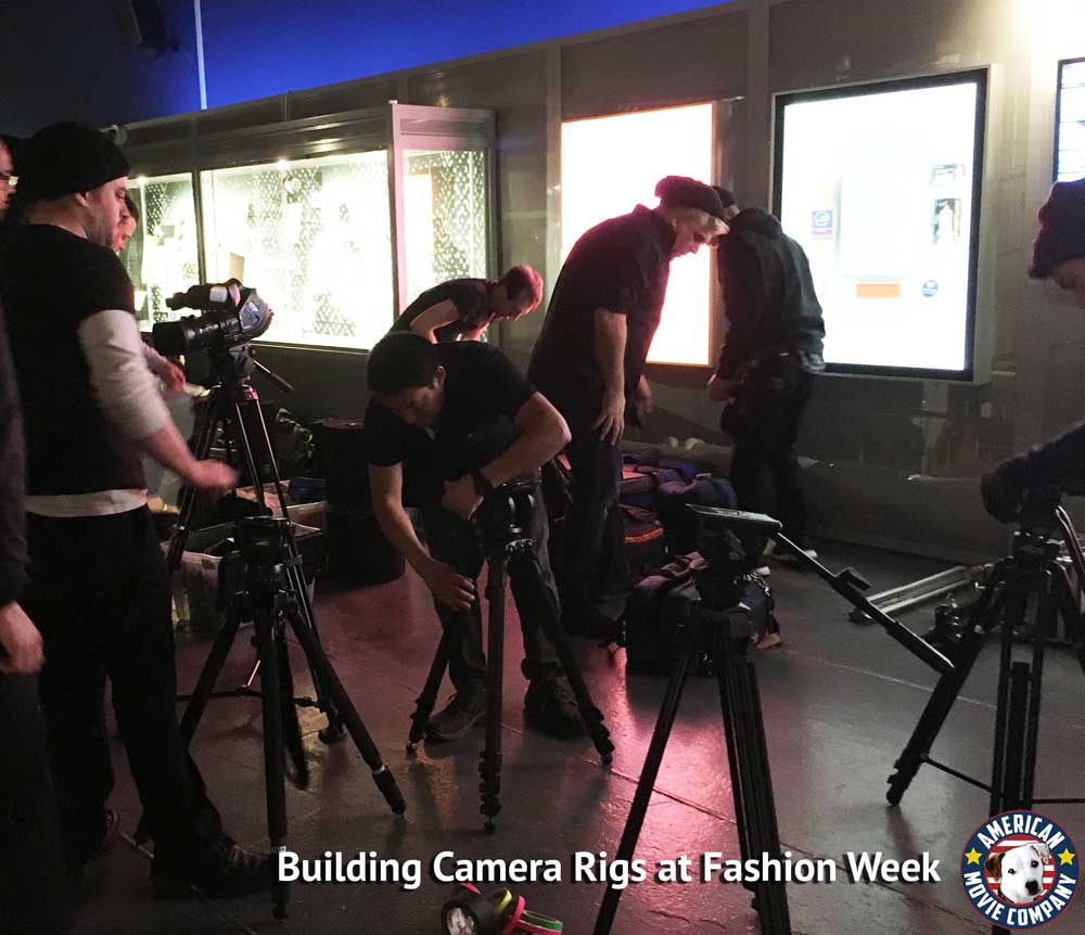 Chi Zhang's Fashion Week Debut - WebCast By AMC 1