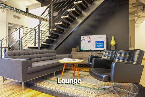 Lounge, sofas