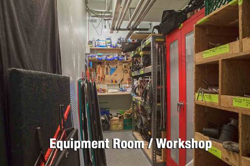 Equipment Room/Workshop