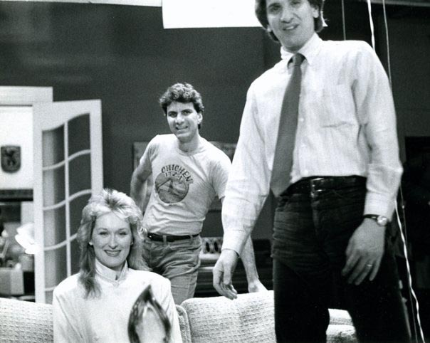 Meryl Streep and two actors