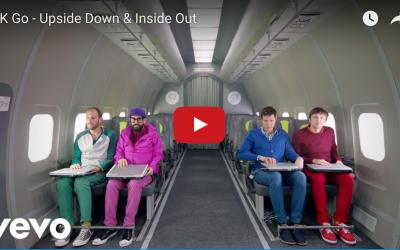"""OK Go"" Music Video Shot In Zero Gravity"
