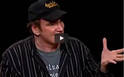 Quentin Tarantino On Making Movies