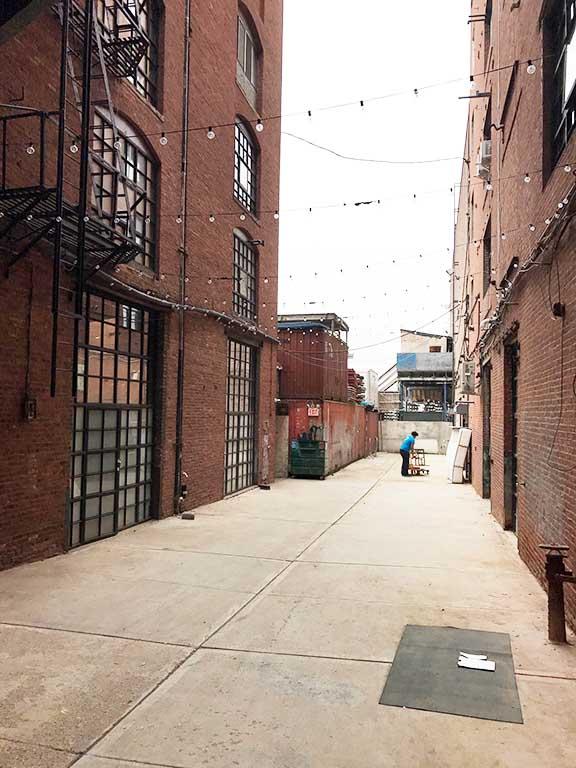 Brooklyn Alleyway