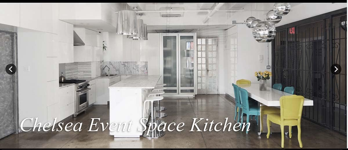 Chelsea Event Space Kitchen