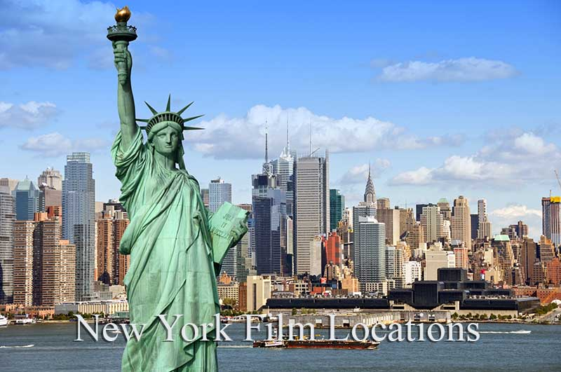 New York Film Locations - Statue of Liberty