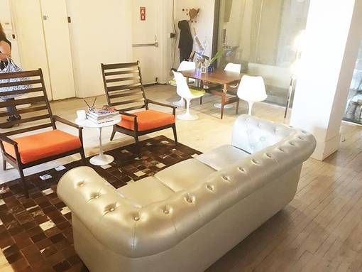 Client Area - big sofa, chairs