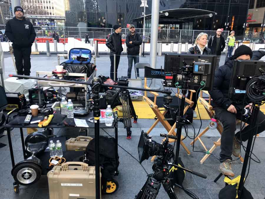 Video Production NYC | WebCasting NYC - Crew Setup