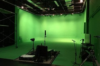 Astoria Mega Green Screen Sound Stage