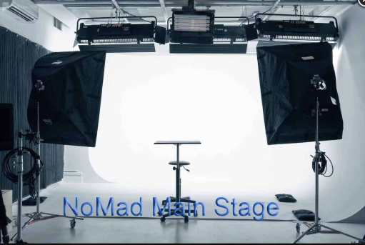 NoMad Main Stage - lights