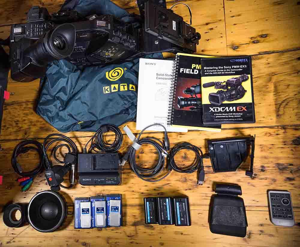 Sony PMW Ex3 WebCasting Camera Rentals 3