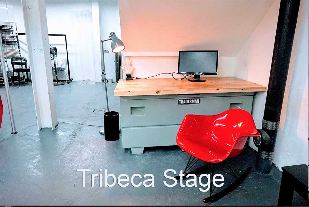 Tribeca Stage - red chair