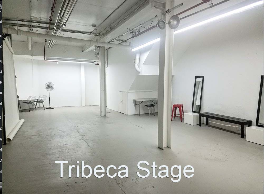 Tribeca Stage - white columns