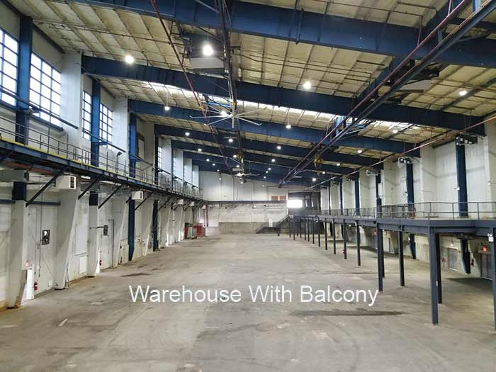 Warehouse With Balcony